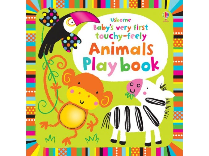 Baby's very first touchy feely animals play book 1