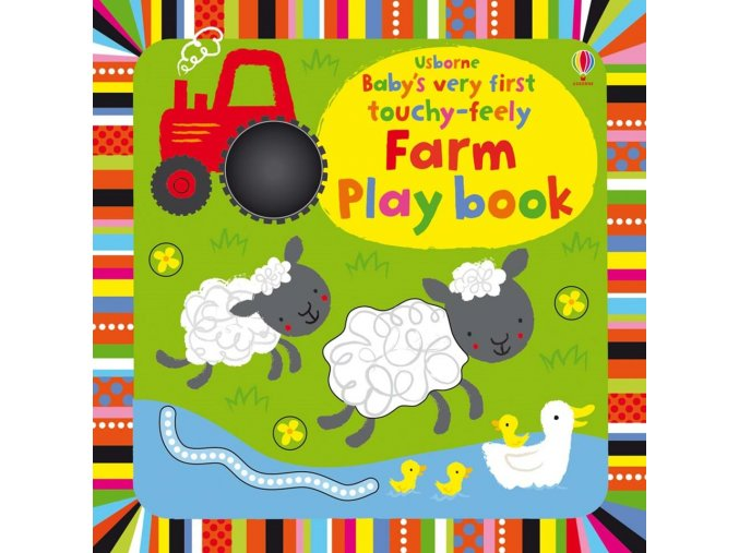 Baby's very first touchy feely farm play book