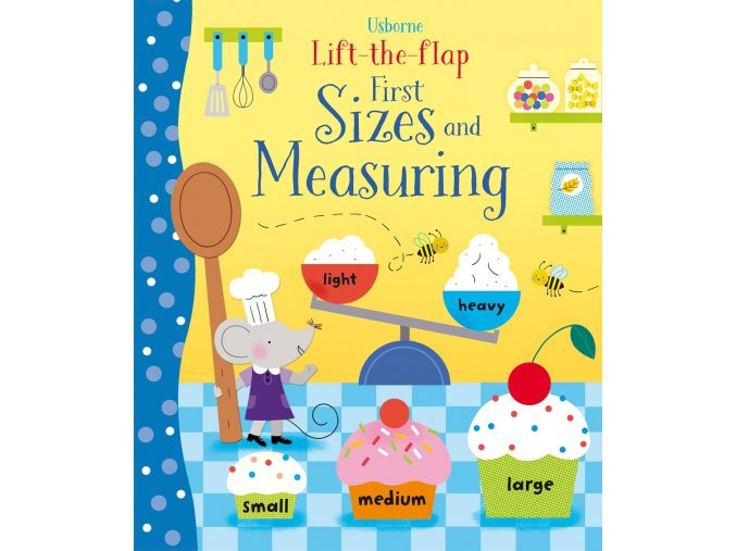 Lift the flap First Sizes and Measuring