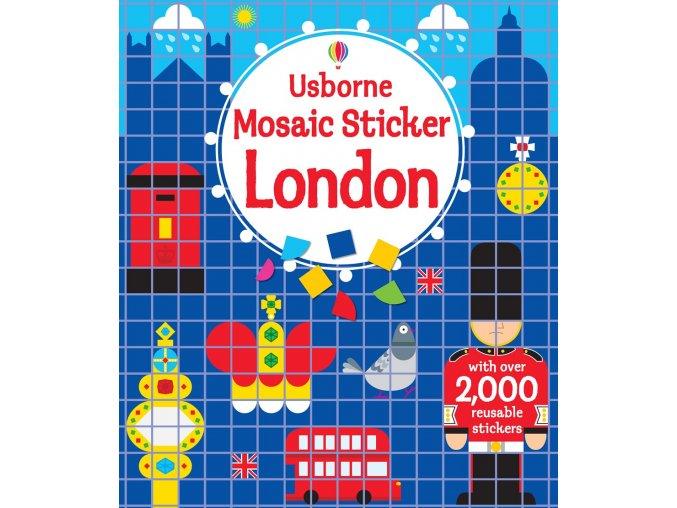 Mosaic sticker London 1