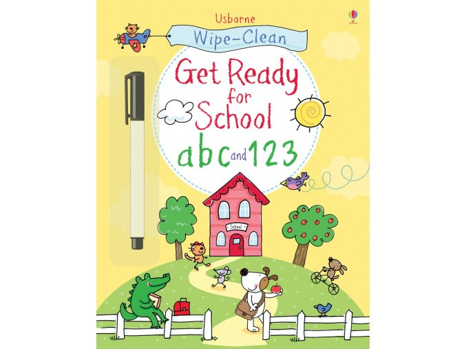 Get Ready for School abc and 123
