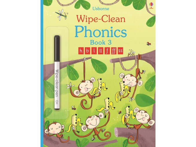Wipe clean phonics book 3 1