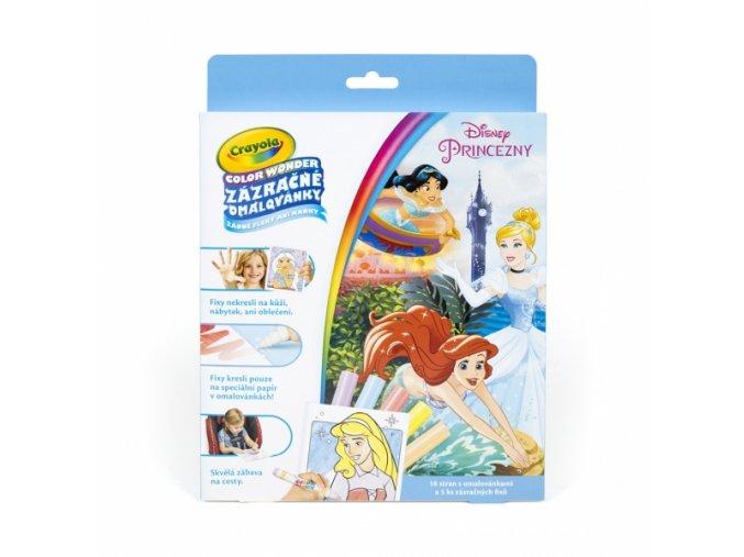 Zázračné omalovánky Disney princezny 1