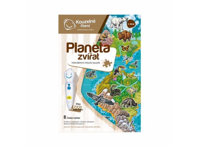 Puzzle Planeta zvířat 2