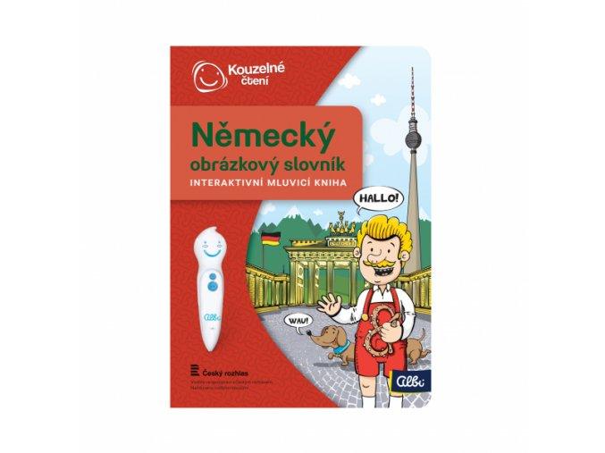 Kniha Německý obrázkový slovník 1