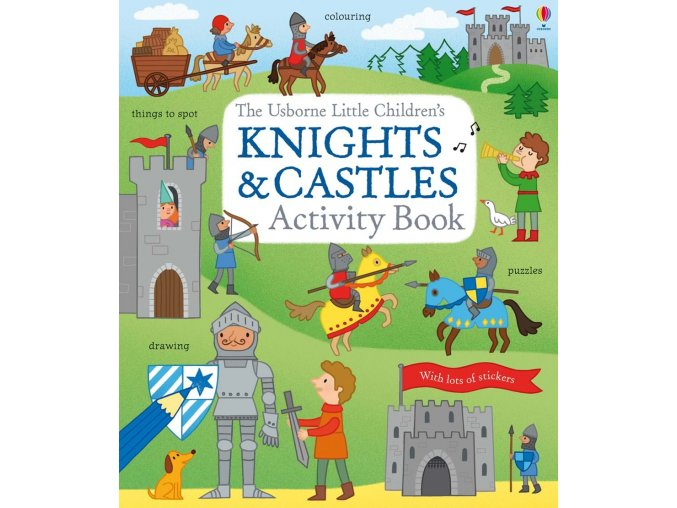 Little children's knights and castles activity book 1
