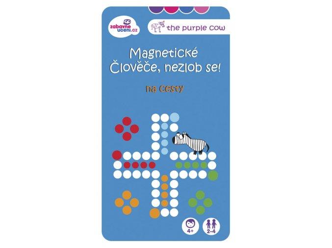 Magnetická hra Člověče, nezlob se na cesty