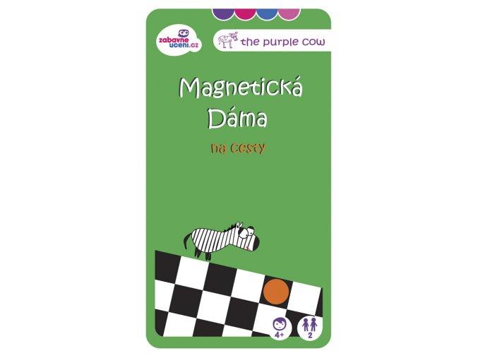 Magnetická hra Dáma na cesty 1