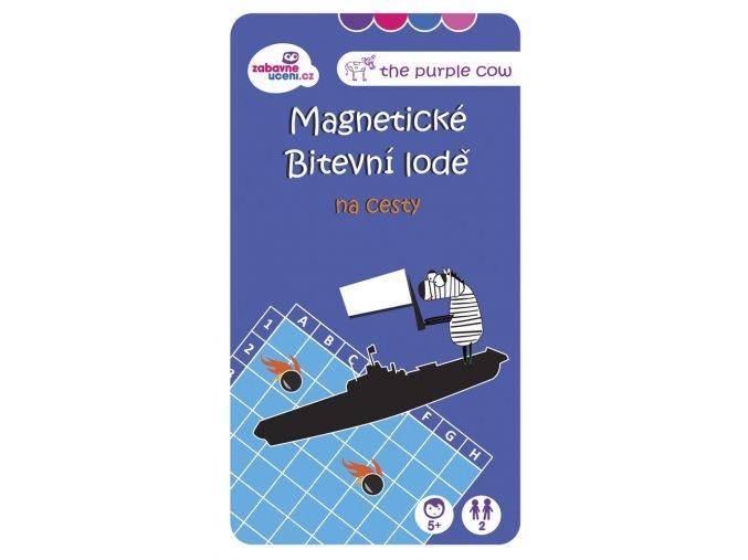 Magnetická hra Bitevní lodě na cesty 1