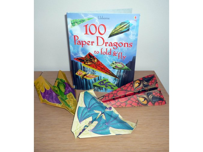100 Paper Dragons to fold&fly F1