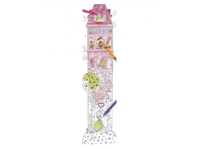 Veselý metr Věž k vymalování 1