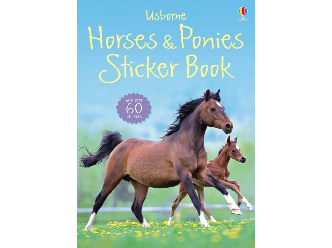 Horses and ponies sticker book 1