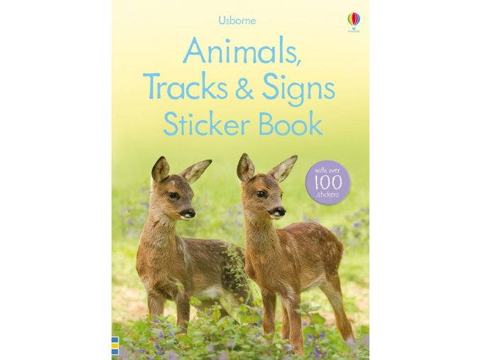 Animals, tracks and signs sticker book 1