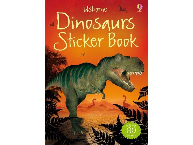 Dinosaurs sticker book 1