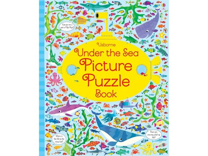 Under the sea picture puzzle book 1