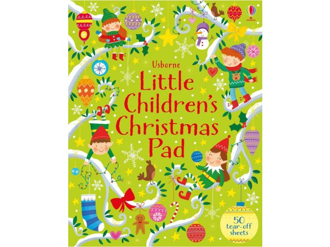 Little children's Christmas pad 1
