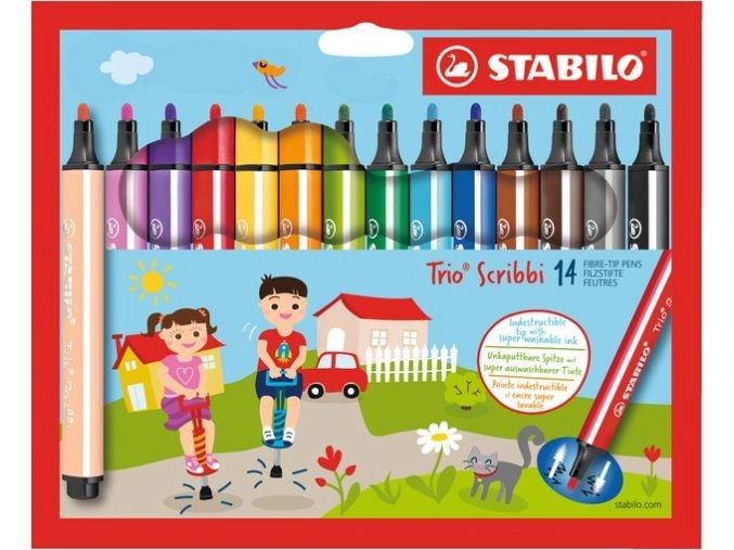 Stabilo Trio Scribbi 14 ks