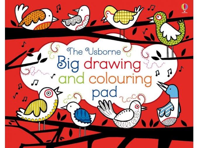 Big drawing and colouring pad 1