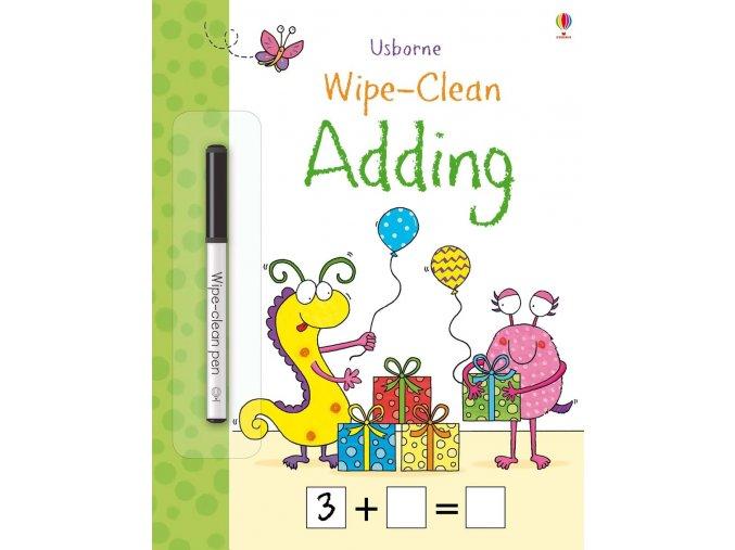 Wipe clean adding