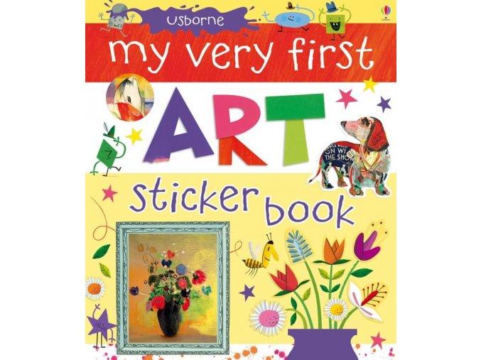 My very first art sticker book 1