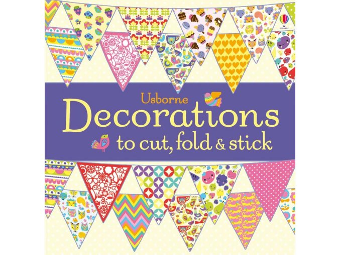 Decorations to cut, fold and stick 1
