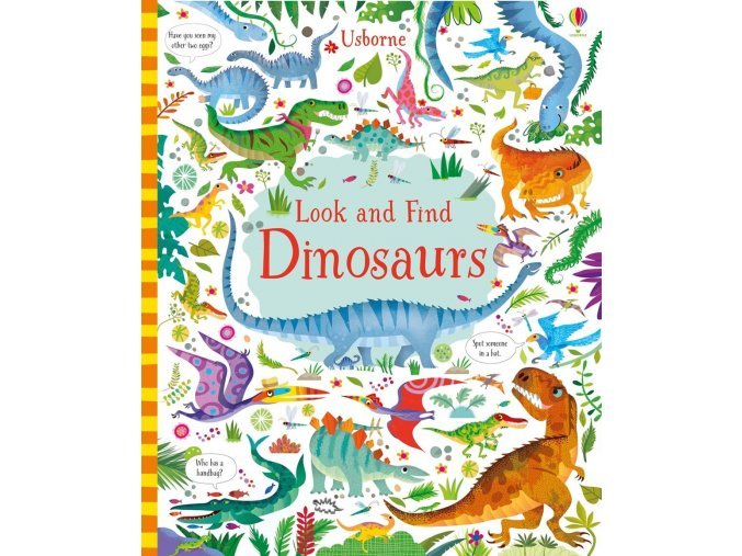 Look and find dinosaurs 1