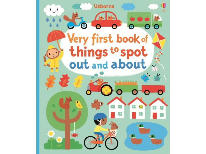 Very first book of things to spot out and about 1