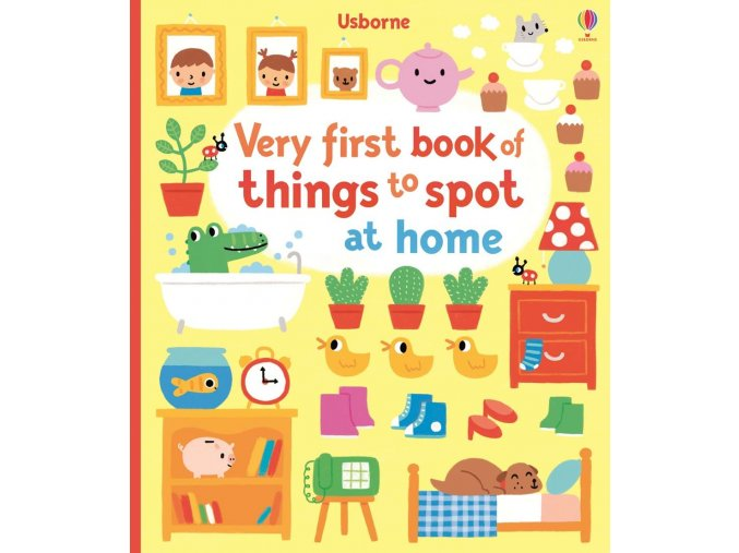 Very first book of things to spot at home 1
