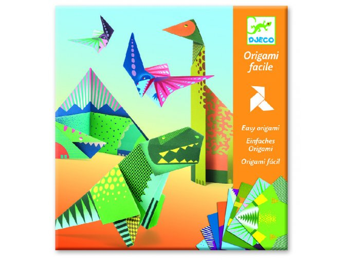 Origami dinosauři 1 DJ08758