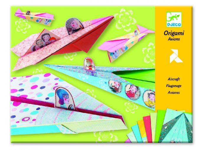 Origami letadla (dívčí) 1 DJ08769