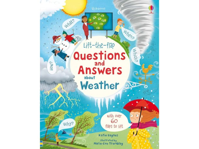 Lift the flap questions and answers about weather