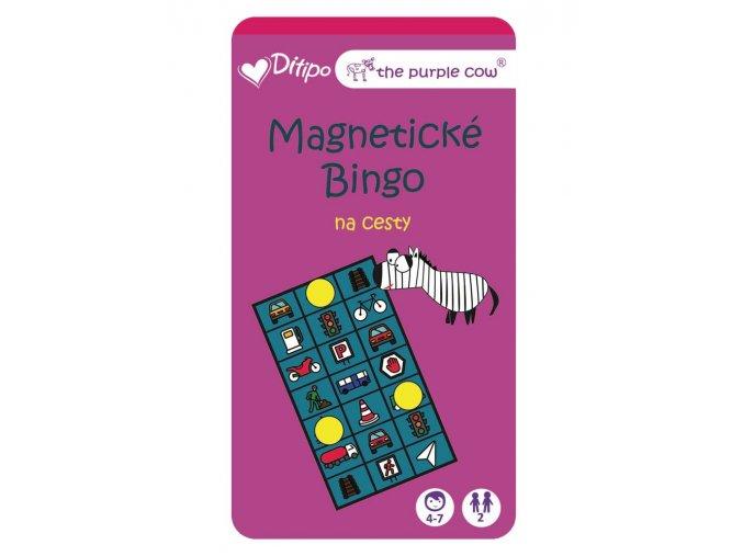 Magnetické bingo na cesty