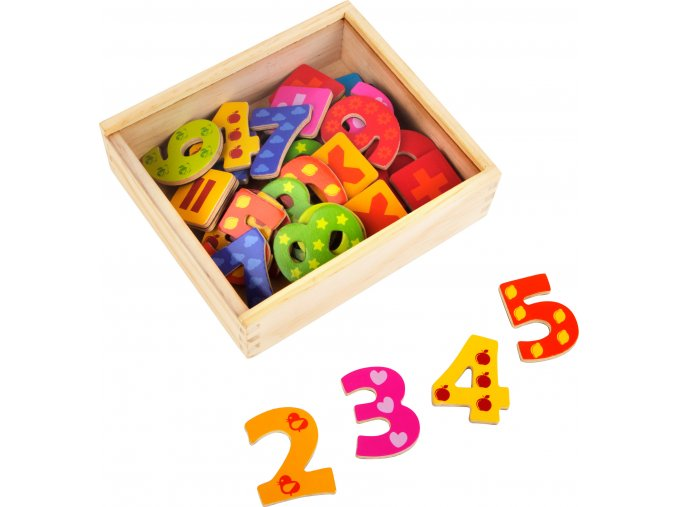 Colourful Magnetic Numbers 2