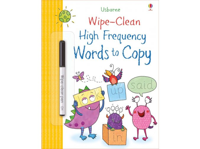 Wipe clean high frequency words to copy 1