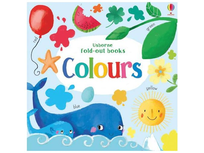 Colours Fold out Book