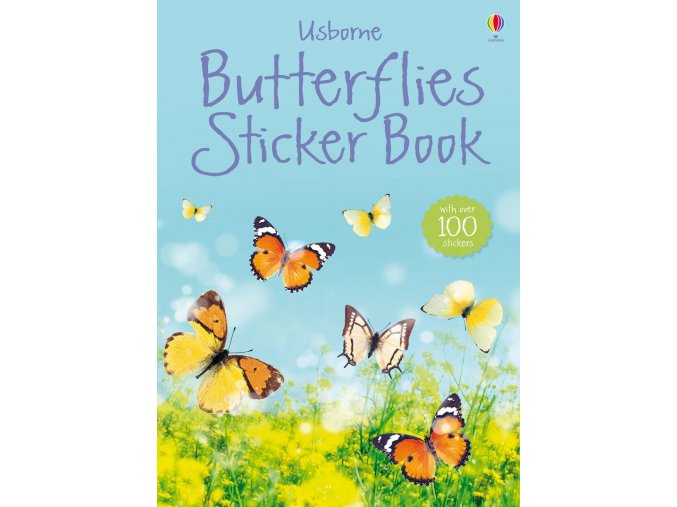 Butterflies Sticker Book 1