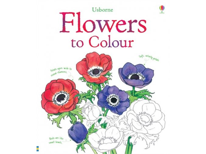 Flowers to Colour 1