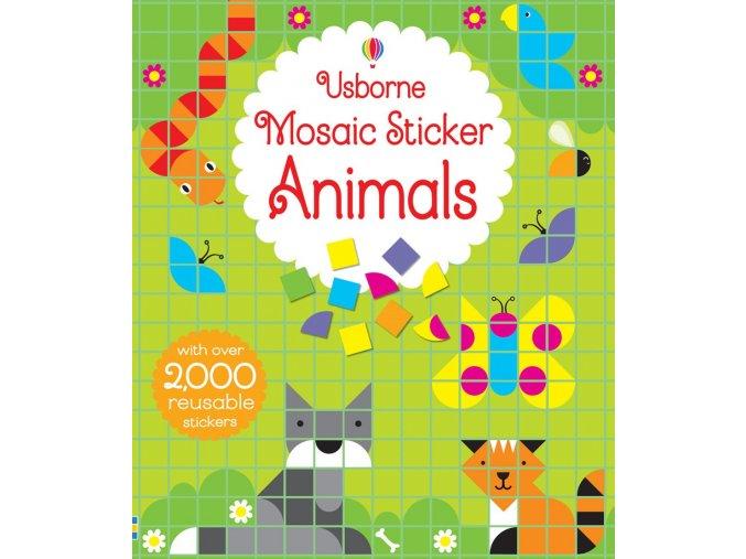 Mosaic sticker animals 1
