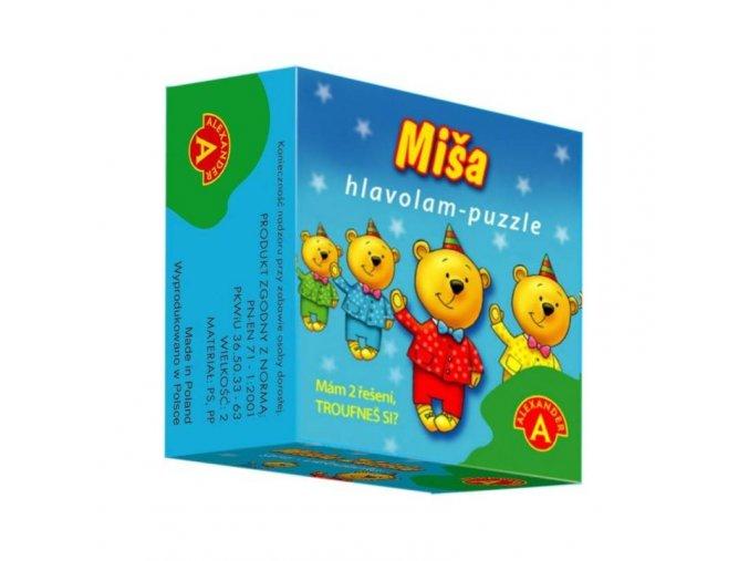 Hlavolam puzzle Míša 1