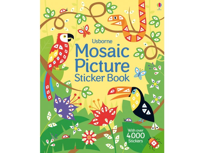 Mosaic picture sticker book 1