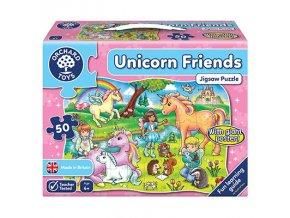 Puzzle Přátelé jednorožci (Unicorn Friends) 1