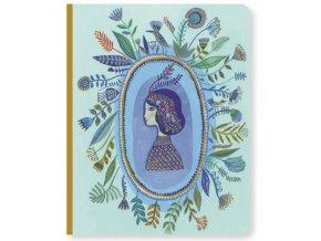 Krásný designový zápisník A5 Aurélia 1