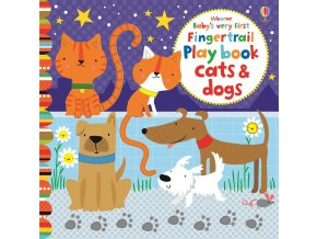 Baby´s very first Fingertrail Play book cats&dogs 1