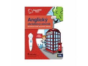 Kniha Anglický obrázkový slovník 1