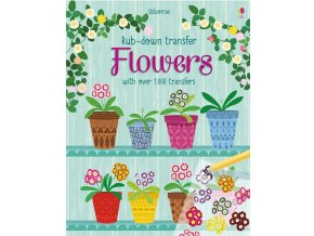 Rub down transfer Flowers