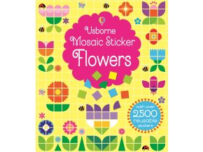 Mosaic sticker flowers
