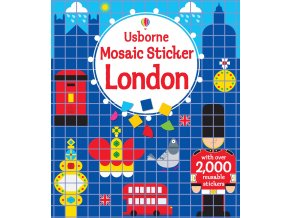 Mosaic sticker London 1