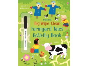 Big wipe clean farmyard tales activity book 1