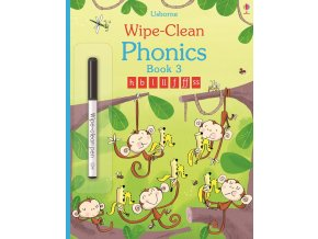 Wipe clean phonics book 3 1