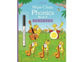 Wipe clean phonics book 4 1